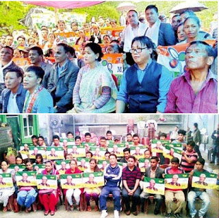 70 GJM joins TMC from BImal's area Tukvar, 30 JAP joins GJM