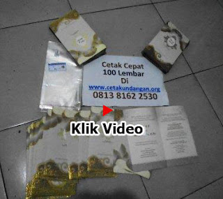 Klik Video Bukti Cetak Undangan 7  yy
