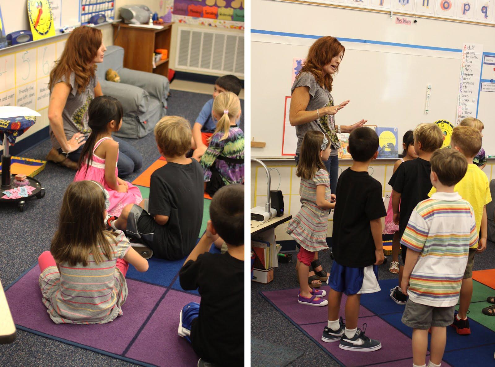 The Larson Lingo First Week Of Kindergarten Back To
