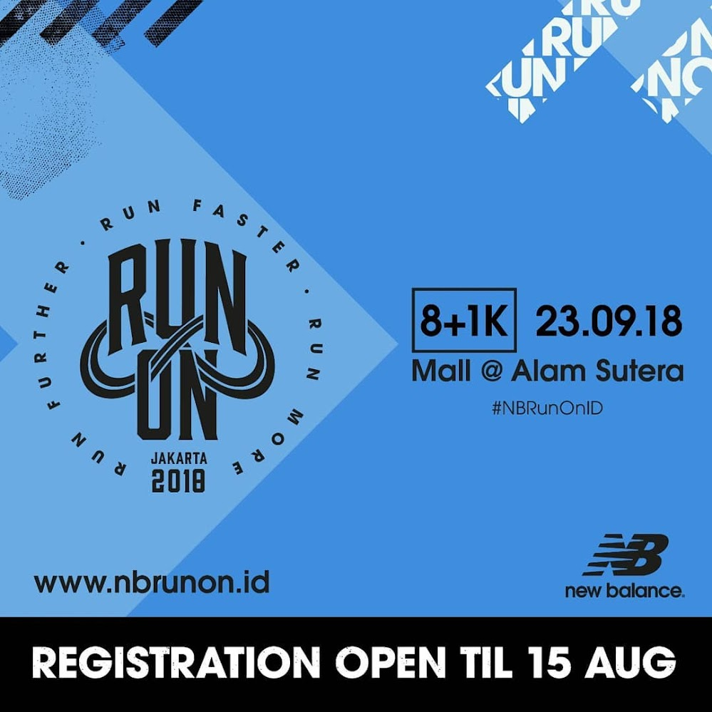 New Balance Run On Indonesia • 2018