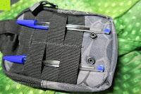 Schlaufen: Greatlizard Außen multifunktionale Nylon taktische Tasche stark und dauerhaft im Freien Armee taktische Taschen (schwarz Python-Muster)