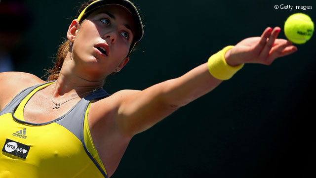 tennis garbine muguruza profile and images