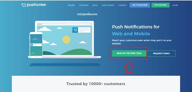 Cara Membuat Push Notification Di Blog / Website