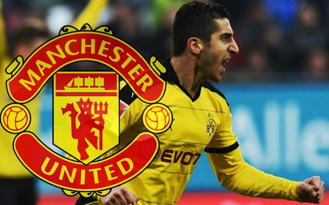 OFICIAL: Henrikh Mkhitaryan é o novo reforço do Manchester United