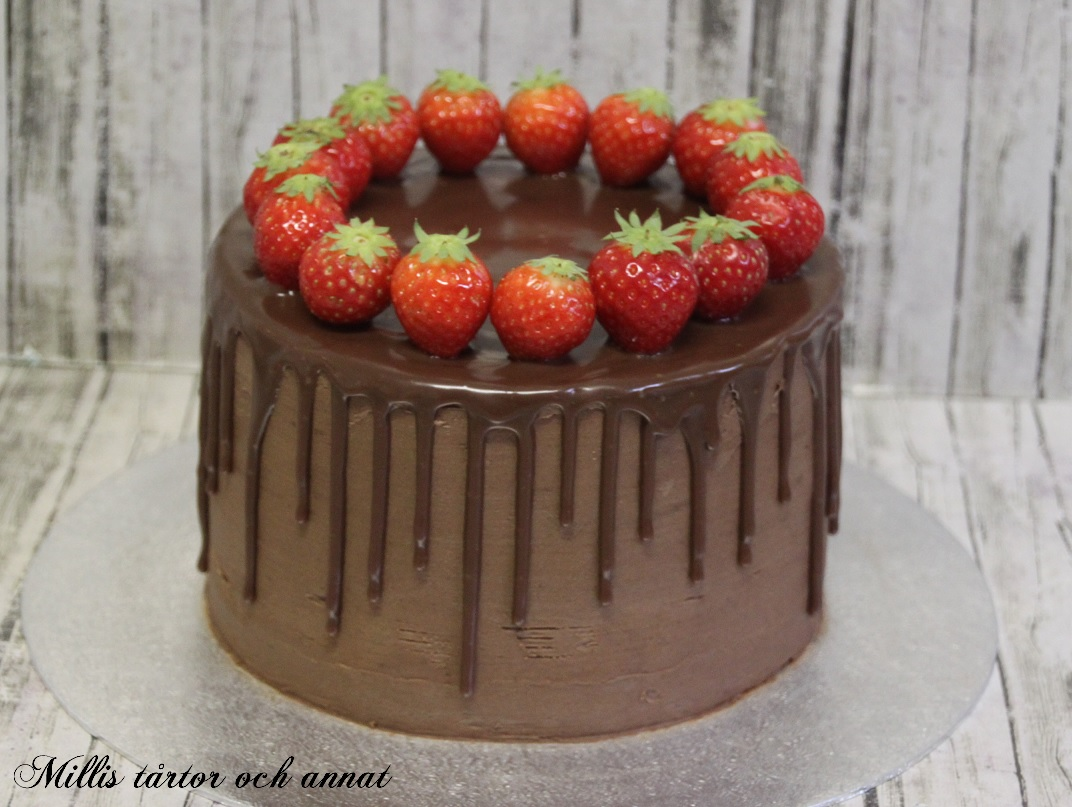 enkel tårta choklad