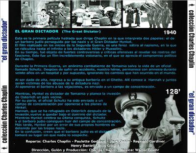 El Gran Dictador (Charles Chaplin) - [1940]