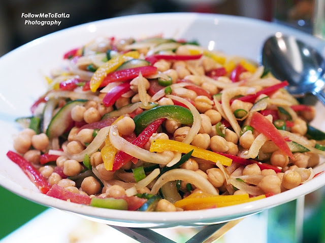 Chick Peas Spicy Salad