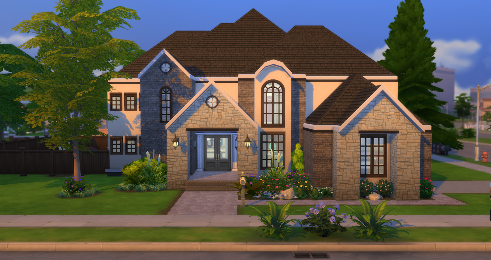 Lacey loves sims suburban elegance for Family homes com