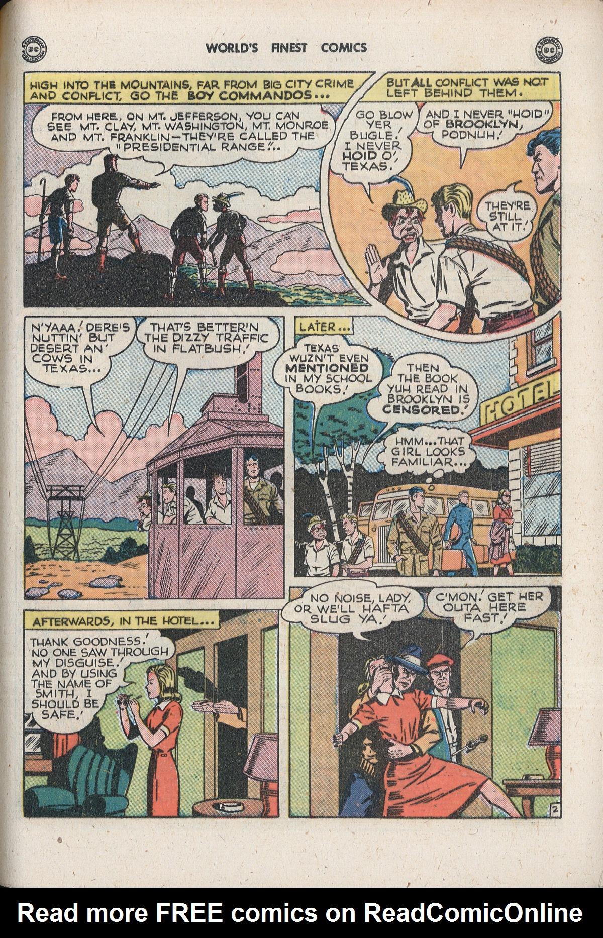 Read online World's Finest Comics comic -  Issue #33 - 49