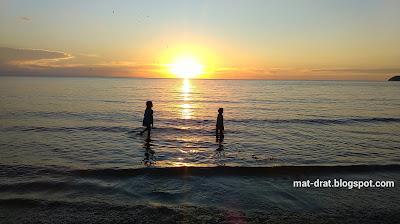 Sunset Tanjung Aru Kota Kinabalu