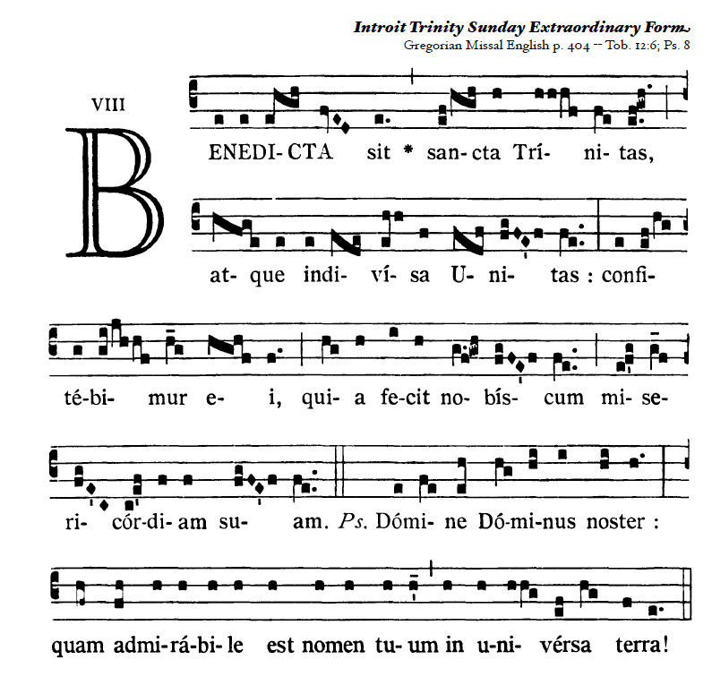 Image result for trinity introit