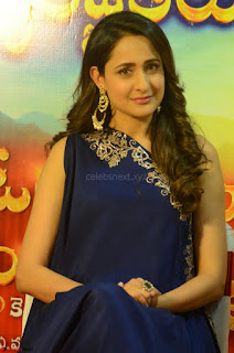 Pragya Jaiswal in beautiful Blue Gown Spicy Latest Pics February 2017 121.JPG