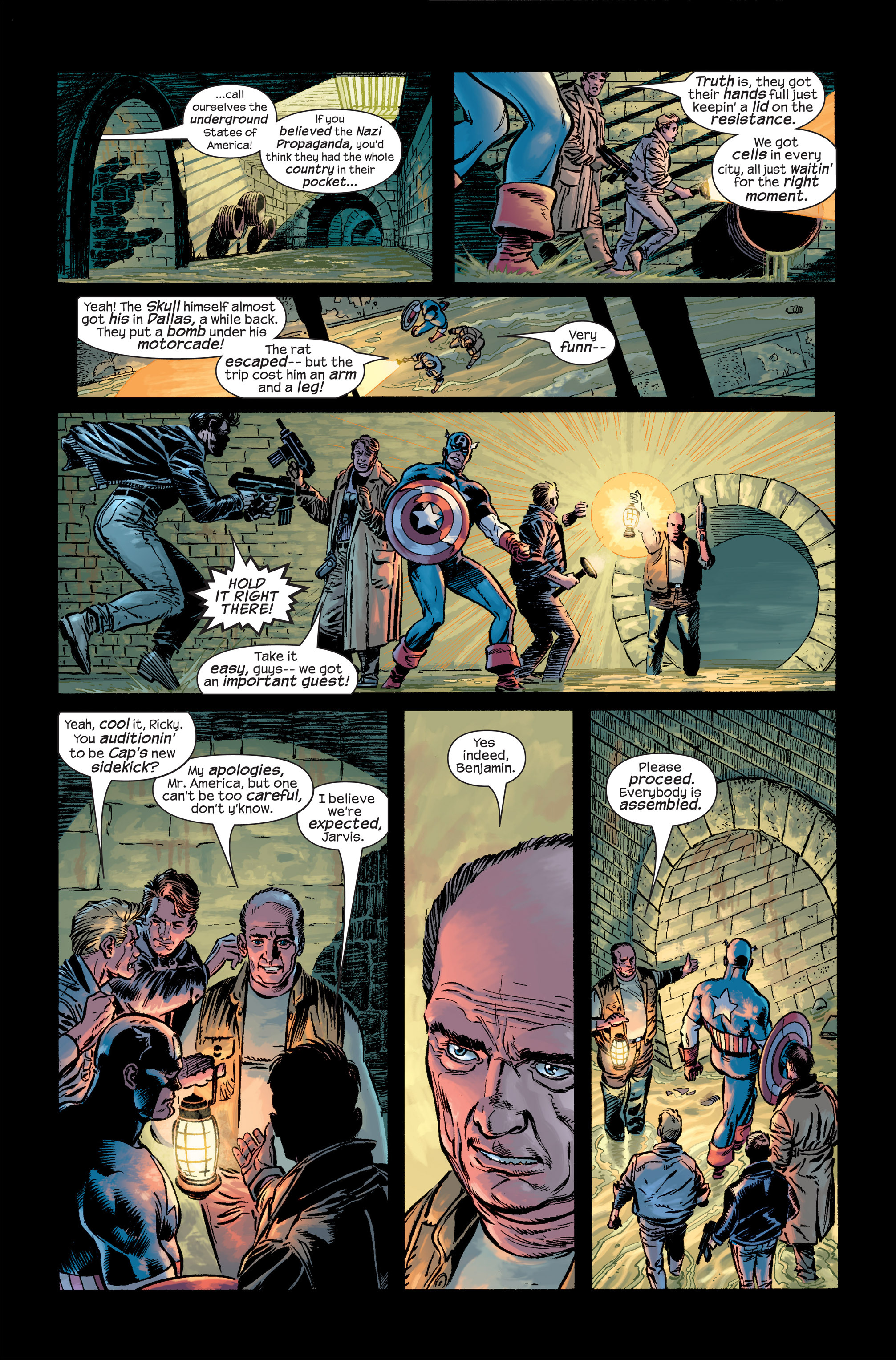 Captain America (2002) Issue #19 #20 - English 3