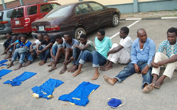 40 eiye black axe cultists arrested ogun lagos