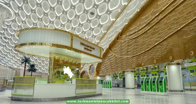Aşkabat - Ankara Uçak Bileti
