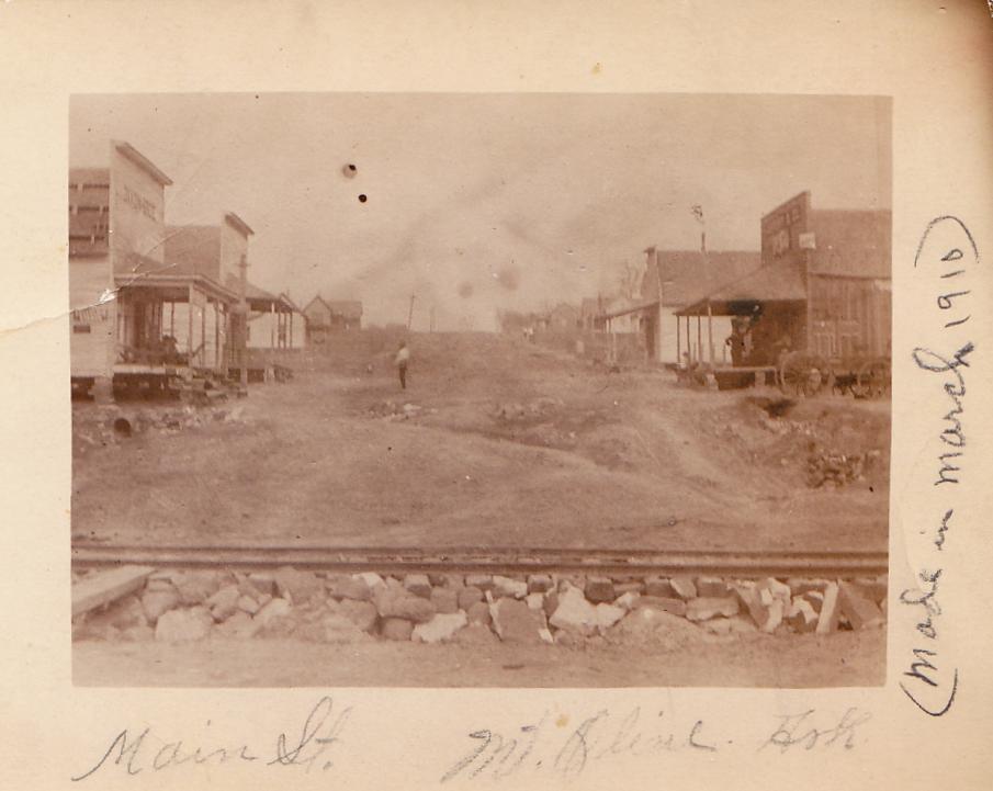 Exploring Izard County Vintage Photo Mount Olive 1910