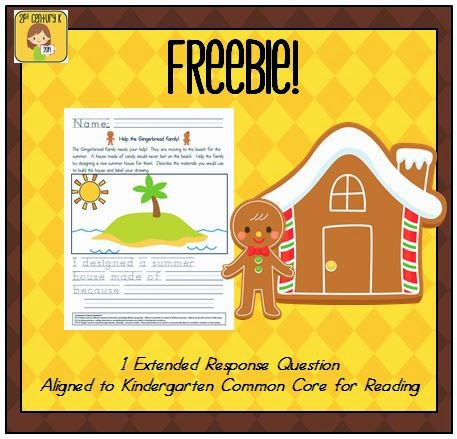 http://www.teacherspayteachers.com/Product/FREEBIE-Gingerbread-Engineering-Extended-Response-Tied-to-Science-Common-Core-986875