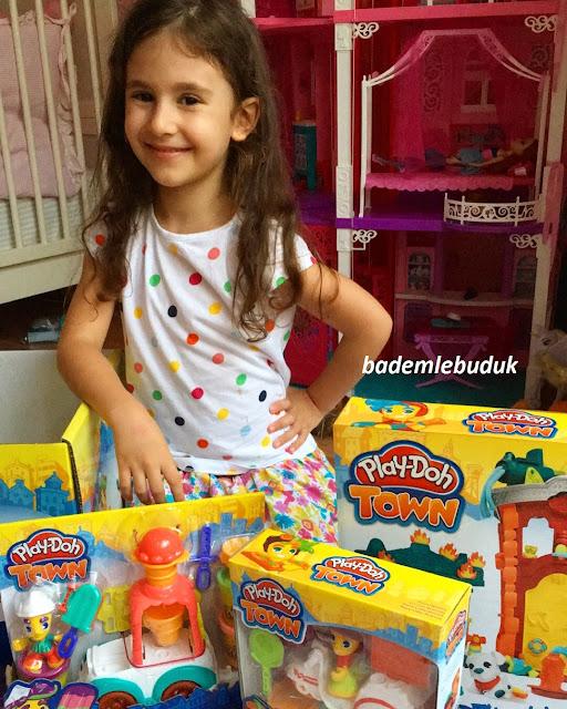 Play-Doh Town Serisi itfaiye