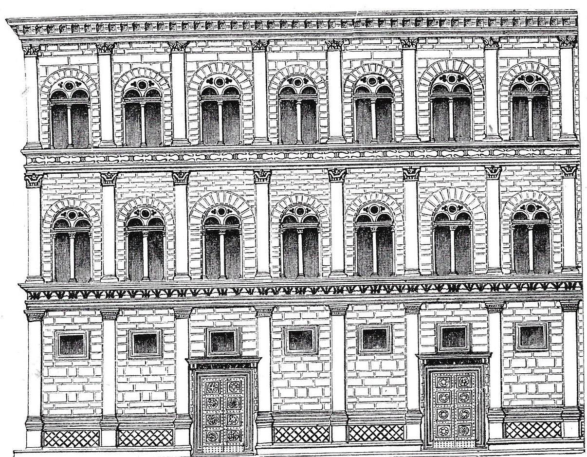 Storie di donne e di poesia case vicoli e palazzi - I giardini di palazzo rucellai ...