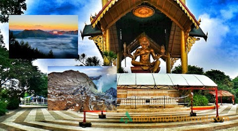 Travel Surabaya, Mt Bromo and Ijen Crater 4 Days Tour