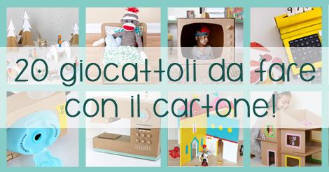 20 bellissimi giocattoli da fare con scatole di cartone da for Creare con il fai da te