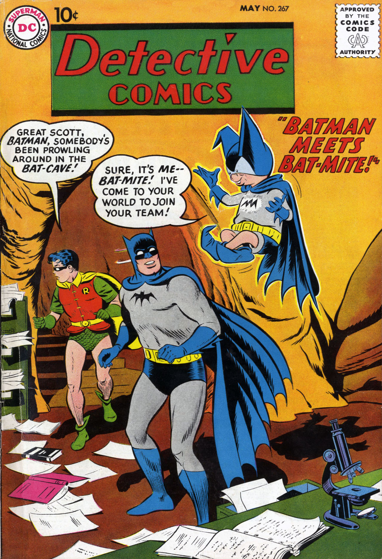 Read online Detective Comics (1937) comic -  Issue #267 - 1