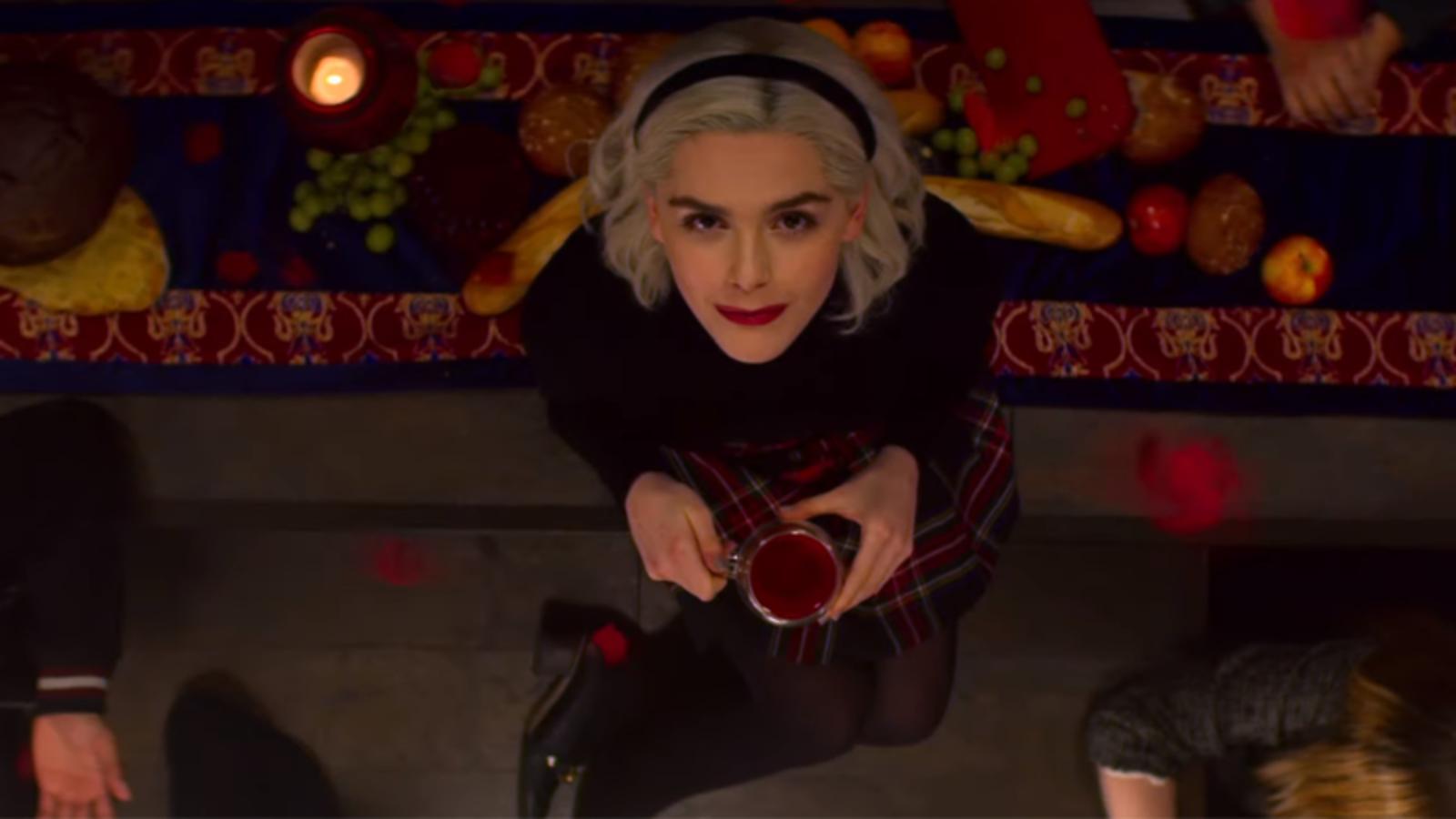 Sabrina la segunda temporada de Chilling Adventures of Sabrina