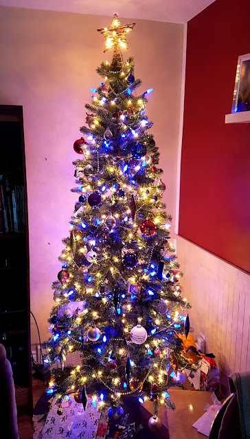 Photo of my mum's Christmas Tree