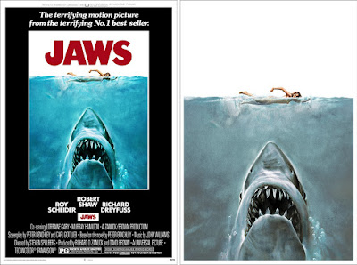 JAWS Movie Poster Screen Print by Roger Kastel x Mondo