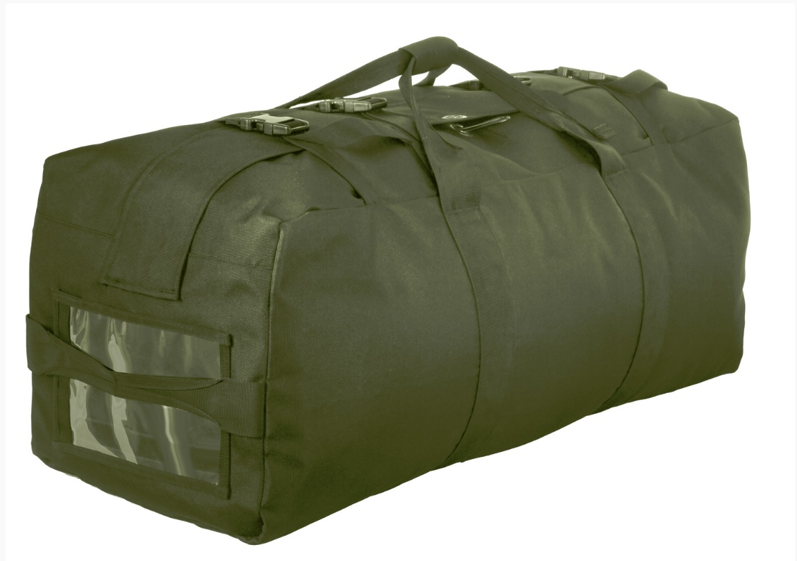 Rothco Improved Military Style Duffle Bag Features Adjule 25 Thick Padded Back Straps With Two Side Carry Handles And Top Handle For Versatility