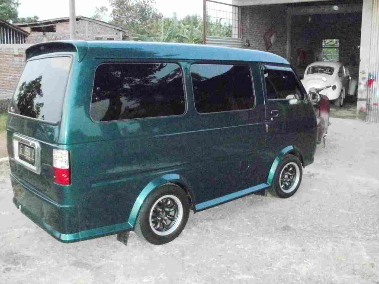 Modifikasi Mobil Motor: Modifikasi Hijet 1000