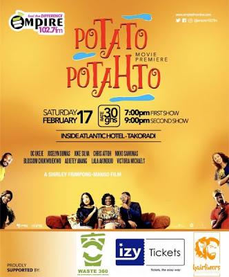 Potato Potahto Set To Premiere In Takoradi