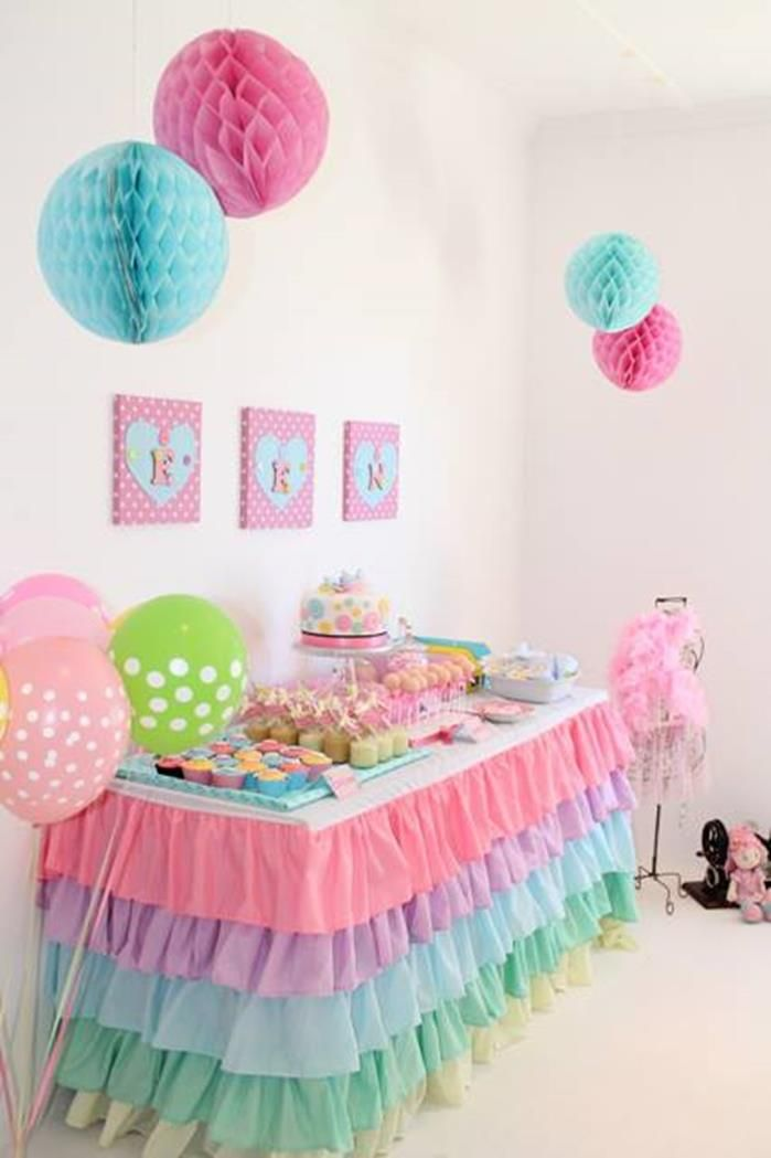 Ideas De Decoracion Baby Shower Nina.Baby Shower Nina Hermosas Decoraciones Baby Shower