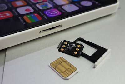 Unlock iphone 6 bang sim ghep