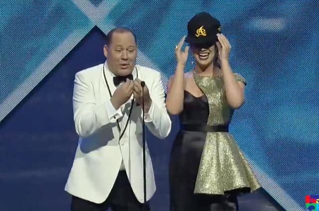 Franklin Mirabal Milly De Moya Premios Soberano 2018