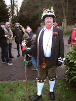 master of ceremonies for wassail in oxfordshire