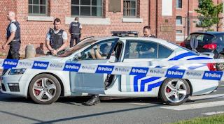 Machete-Wielding Man Attacks Two Belgian Police Officers
