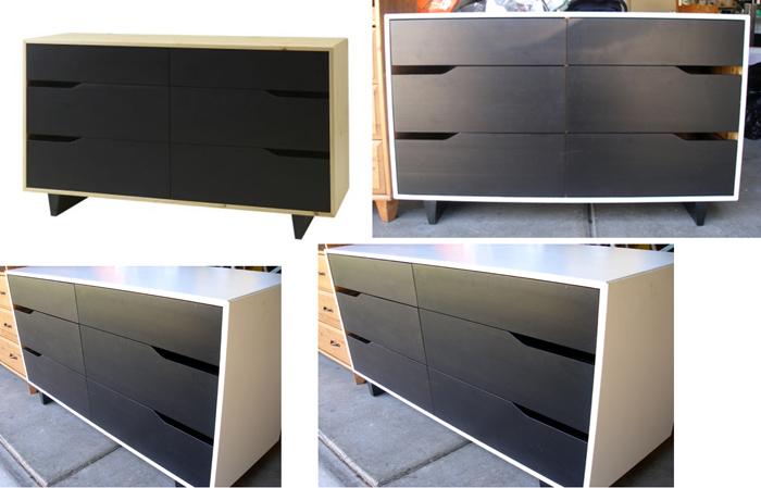 Modernist Furniture SOLD  Ikea Mandal Dresser 3 units