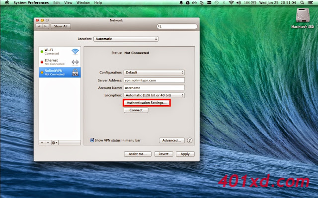 Tutorial Lengkap Setting VPN Server di Mac OS X
