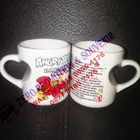 Souvenir Mug Gagang Love Cekung