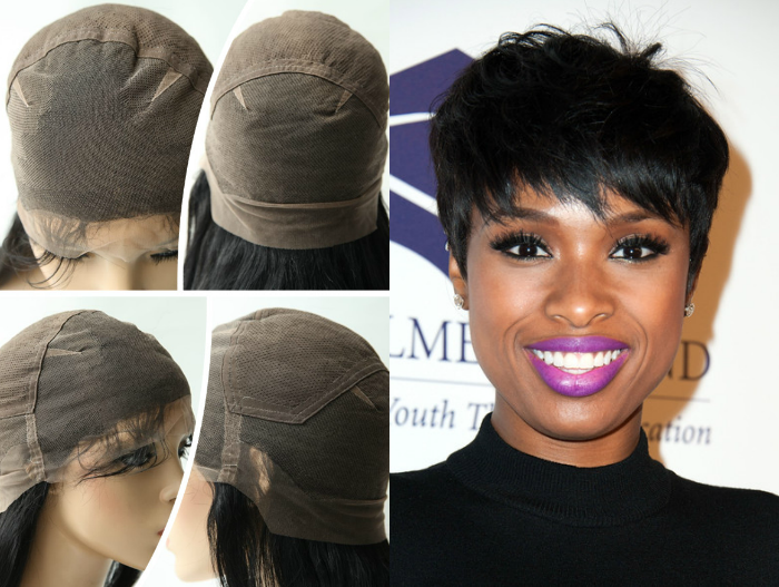 Full Lace Cap 120% Straight Short Human Hair, cocowig, Short African American Wigs, Short Hairstyle Wigs African American Online