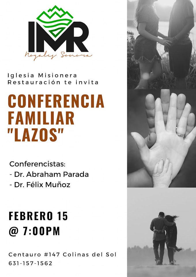 "IMR Celebra Conferencia Familiar ""Lazos"""