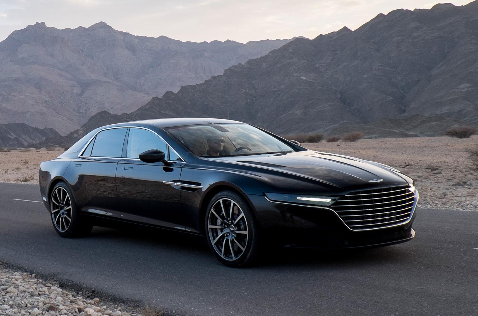 Aston Martin Shows New Lagonda Sedan 30+ Photos  Carscoops