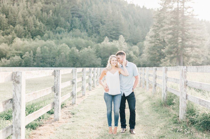 Romantic Ranch Engagement Session-Bonney Lake Wedding Photographers-Something Minted Photography