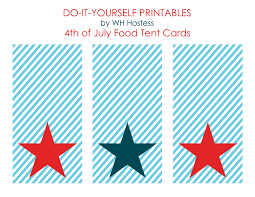 Free 4th of July Printable Postcards