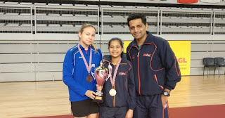 Spotlight :  Diya Chitale wins bronze in Croatia Junior and Cadet Open