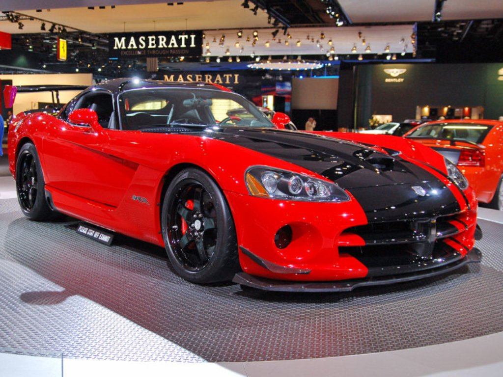 Viper Car Wallpaper Auto World Dodge Viper