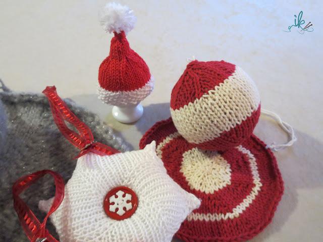 Weihnachtsdeko stricken