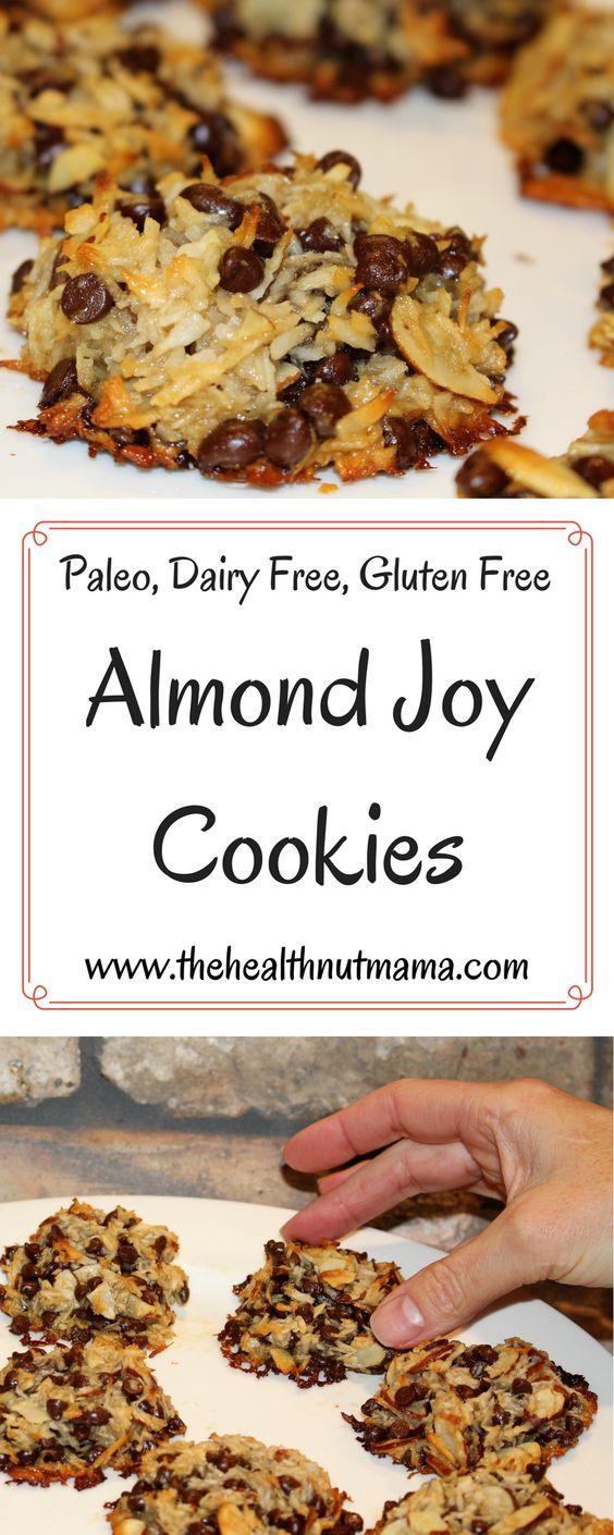 Paleo Almond Joy Cookies