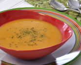 Laura's Healthy Carrot Soup